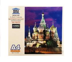 Moscow: St. Basil's Cathedral Churches Miniature Puzzle