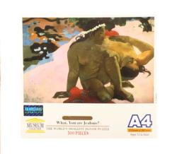 What, are you jealous? Fine Art Jigsaw Puzzle