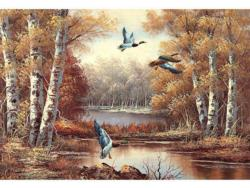Flying Lakes / Rivers / Streams Jigsaw Puzzle