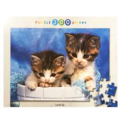 Look Up Cats Jigsaw Puzzle