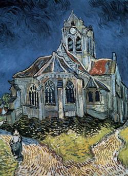 The Church at Auvers Churches Jigsaw Puzzle
