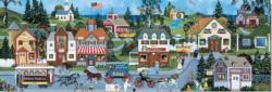 The life of Riley Americana & Folk Art Panoramic Puzzle