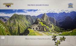 Machu Picchu, Peru Monuments / Landmarks Panoramic Puzzle