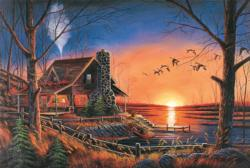 Gathering Sunrise / Sunset Jigsaw Puzzle