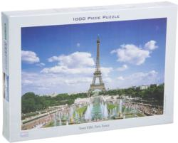Eiffel Tower, France Eiffel Tower Jigsaw Puzzle