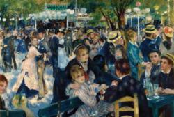Ball at the Moulin de la galette Fine Art Jigsaw Puzzle