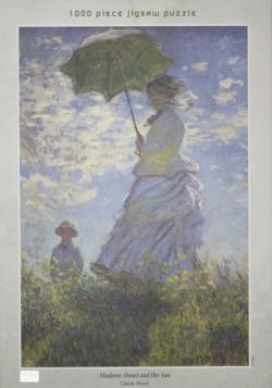 Madame Monet Fine Art Jigsaw Puzzle
