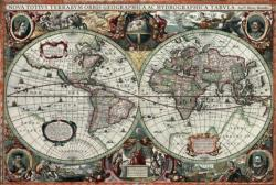 Historical World Map Maps / Geography Jigsaw Puzzle
