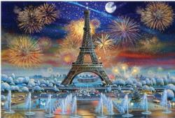 Eiffel Tower Celebration Eiffel Tower Jigsaw Puzzle