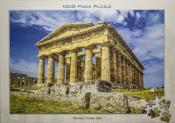 Paestum Temple, Italy Monuments / Landmarks Jigsaw Puzzle