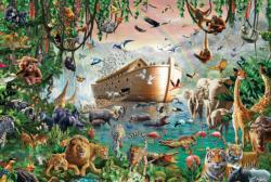 Noah's Ark Boats Jigsaw Puzzle