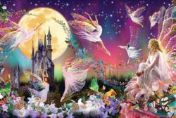 Fairy Triptych Fairies Jigsaw Puzzle