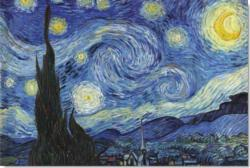 Starry Night Fine Art Jigsaw Puzzle