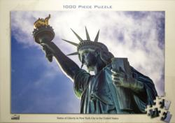 Statue Of Liberty New York Monuments / Landmarks Jigsaw Puzzle