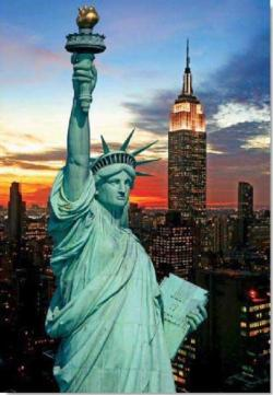 The Statue of Liberty Statue of Liberty Jigsaw Puzzle