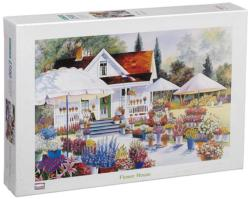 Flower House Cottage / Cabin Jigsaw Puzzle
