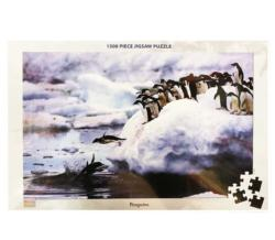 Penguins Snow Jigsaw Puzzle