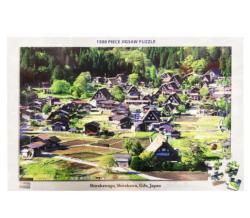 Shirakawago, Shirakawa, Gifu Japan Jigsaw Puzzle