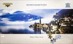 Hallstatt Village, Austria Seascape / Coastal Living Panoramic Puzzle