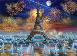 Eiffel Tower Celebration Eiffel Tower Jigsaw Puzzle
