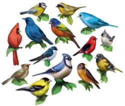 Birds I Pattern / Assortment Shaped
