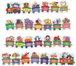 Alphabet Train Alphabet/Numbers Children's Puzzles