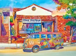 The Love Bus Nostalgic / Retro Jigsaw Puzzle