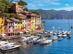 Harbor, Riviera di Levante, Portofino, Liguria, Italy Seascape / Coastal Living Jigsaw Puzzle