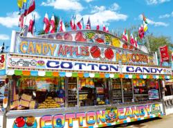 Cotton Candy Concession Stand Sweets Jigsaw Puzzle