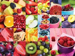 Juicy Fruits Collage Jigsaw Puzzle