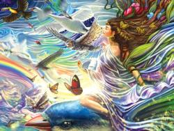 Sky Fairy Fantasy Jigsaw Puzzle