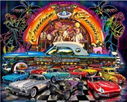 Cruisin' Classics Nostalgic / Retro Jigsaw Puzzle