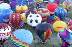 Colorful Hot Air Balloons Balloons Jigsaw Puzzle
