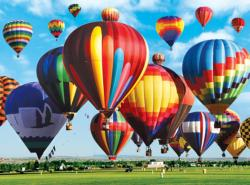 Albequerque Int'l Balloon Fiesta Landscape Jigsaw Puzzle