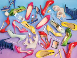 Fashion Shoes Collage Jigsaw Puzzle