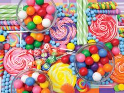 Colorful Candies Sweets Jigsaw Puzzle