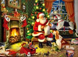 Who's Next on the List Domestic Scene Jigsaw Puzzle