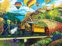 County Express Trains Jigsaw Puzzle