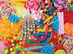 Candy Craze Pattern / Assortment Jigsaw Puzzle