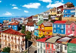View of Colorful Buildings Cities Jigsaw Puzzle