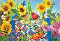The Quilting Bee Flowers Jigsaw Puzzle