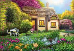 Garden Cottage Garden Jigsaw Puzzle