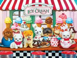 Puppy Parlor Food and Drink Jigsaw Puzzle