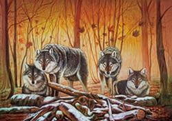 The Wolf Lair Wolves Jigsaw Puzzle