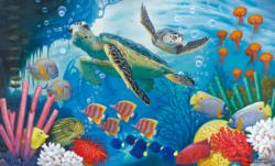Sea Turtles Reptiles and Amphibians Jigsaw Puzzle