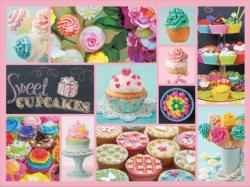 Cupcakes (Collage Collection 1000) Sweets Jigsaw Puzzle