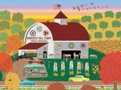 Harvest Hill (Home Country 1000) Folk Art Jigsaw Puzzle