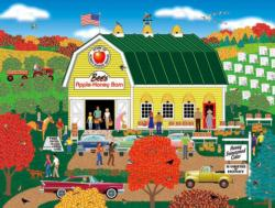 Bee's Apple Honey Barn (Home Country 1000) Folk Art Jigsaw Puzzle