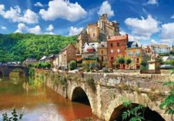 Estating France (Colorluxe 1500) Bridges Jigsaw Puzzle