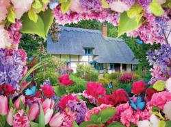 Summer Cottage Cottage / Cabin Jigsaw Puzzle